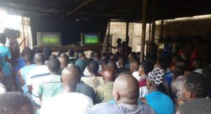 Footbal viewing centre, Technical Colleges, Resume,  Kano, Ganduje