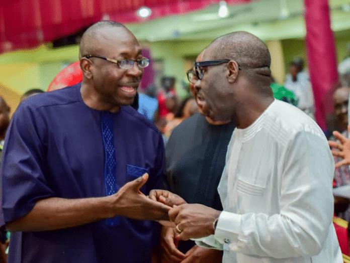 Godwin Obaseki, Osagie Ize-Iyamu, Edo Elections, INEC, Official Results, Obaseki Ahead