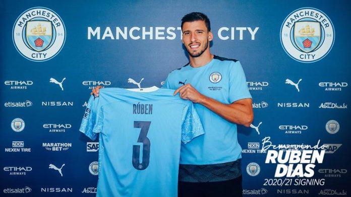 Ruben Dias, Manchester City, Mixes Up, Kalidou Koulibaly, Website Announcement