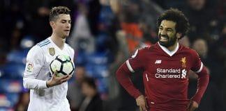 Liverpool, Mohammed Salah, Manchester United, Christiano Ronaldo