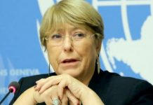 Michelle Bachelet, Replacing SARS, SWAT, Too Swift, Breeds Distrust, UN, Human Rights Chief