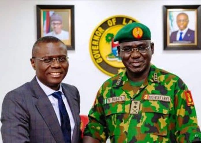 Burutai, Sanwo-olu, Lagos Govt, Nigeria Army, Trade Blames, Truth Gradually Unfolds, Lekki Toll Gate Killings