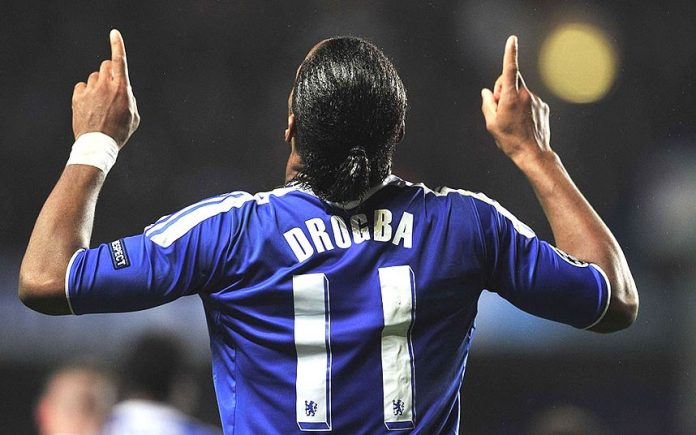 Didier Drogba, Beats Lionel Messi, Cristiano Ronaldo, UEFA President's Award, Chelsea