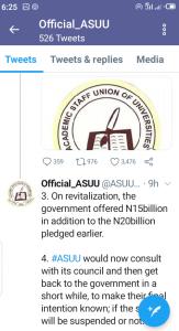 ASUU, FG Bows, ASUU Demands, Drops IPPIS