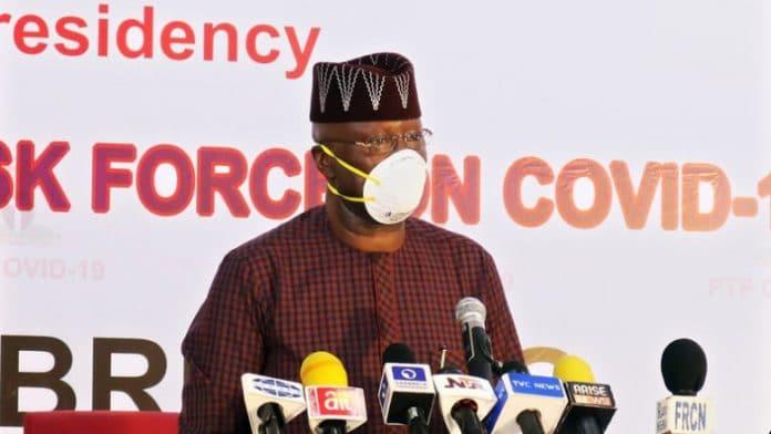 COVID-19, Attack Nigeria, 2 Weeks, PTF Warns, Boss Mustapha