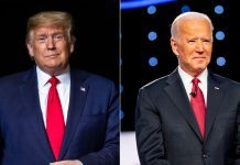 US ELECTION 2020, Donald Trump, Joe Biden