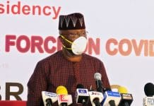 Boss Mustapha, COVID-19, 5-Week, Restrictive Measures, Lockdown May Follow