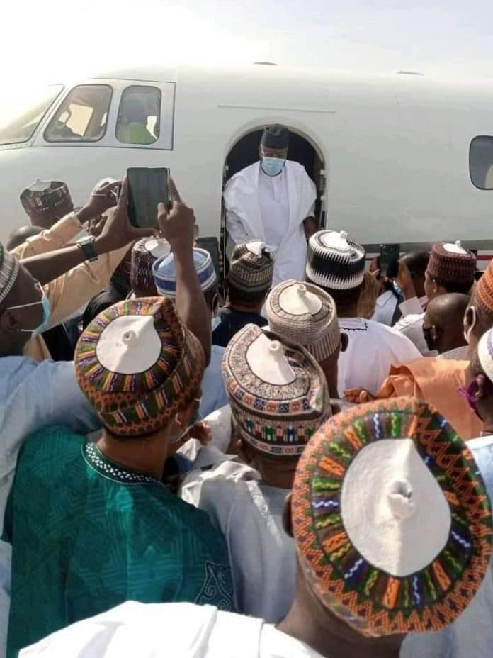 Muhammad Umar Jibrilla Bindow, Returns, Adamawa State, First Time, 2019