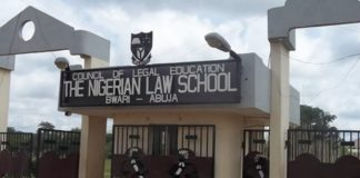 Nigerian Law School, 2015 Ban, Graduates, 'Substandard', Benin Republic University