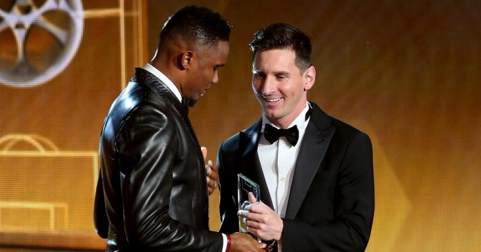 Samuel Eto'o, Lionel Messi, Undisputed G.O.A.T
