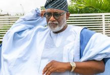 Rotimi Akeredolu, Presidency, Ondo Governor, Disconnect Crimes, Ethnicity