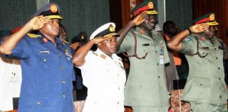 Service Chiefs, Finally Resign, Muhammadu Buhari, Names Replacements