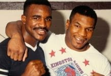 Violent Sparring, Mike Tyson, Evander Holyfield