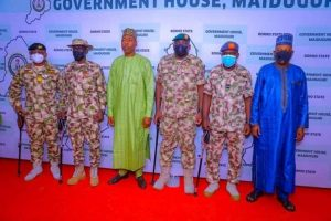 Babagana Umara Zulum, Chief of Defence Staff, Service chiefs