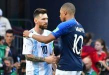 Kylian Mbappe, Lionel Messi, Face off, PSG, Barcelona, European Champions League