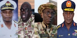 Service Chiefs, Lucky Irabor, Talks Tough, Rules Out, Negotiating, Terrorists, Armed Forces, Determine Security