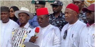 South-East, Ebube Agu, Tackle Insecurity
