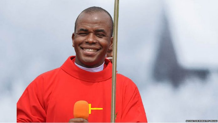 Fr Ejike Mbaka, Withdraws Support, Muhammadu Buhari, Failed God, God Angry