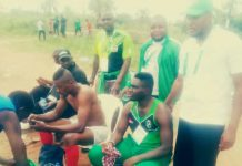 Team Kano, First Gold Medal, Edo Festival
